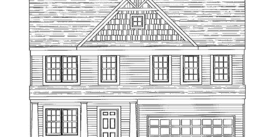 Barry Andrews Homes Layton Floor Plan