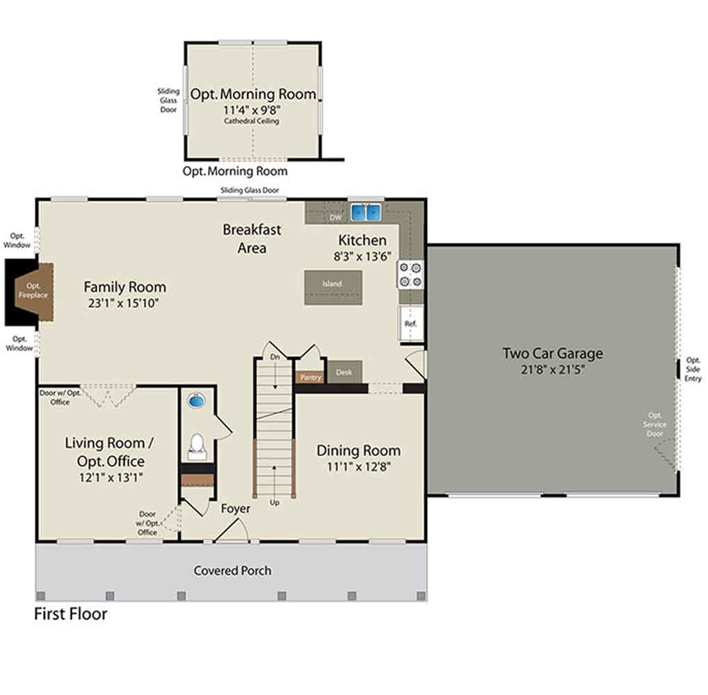 Floor Plans Barry Andrews Homes