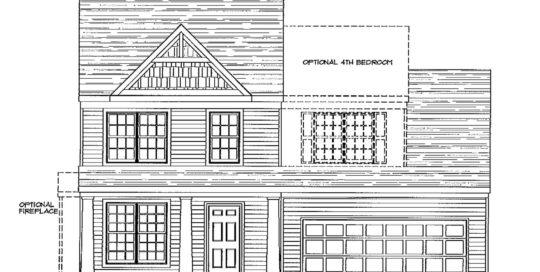 Barry Andrews Homes Sawyer Floor Plan