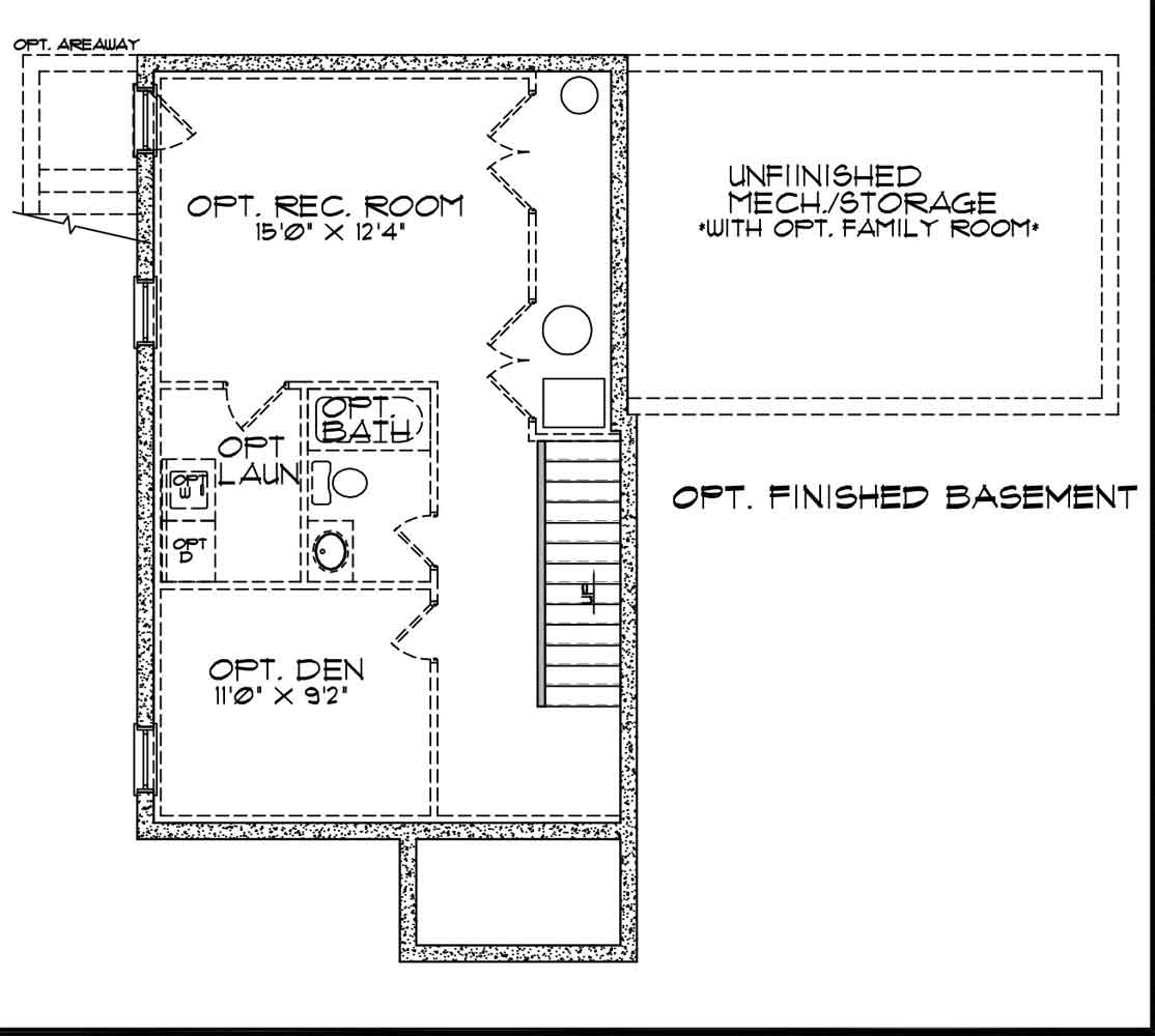Sawyer barry andrews homes - Design basement layout ...