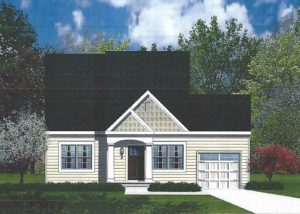 Barry Andrews Homes Simonton floor plan