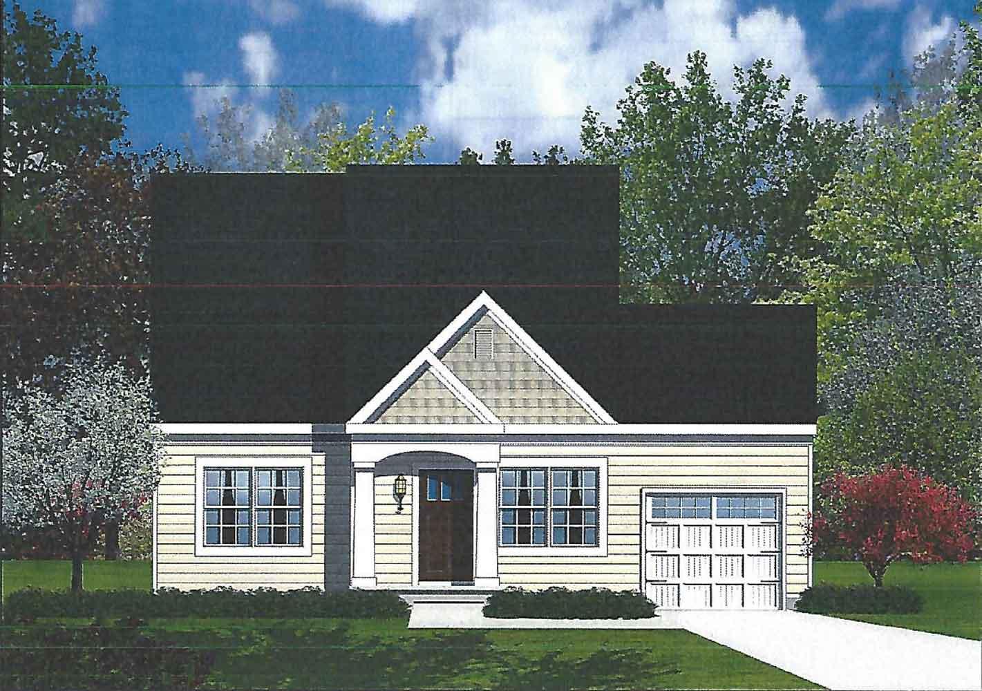Barry Andrews Homes Simonton floor plan