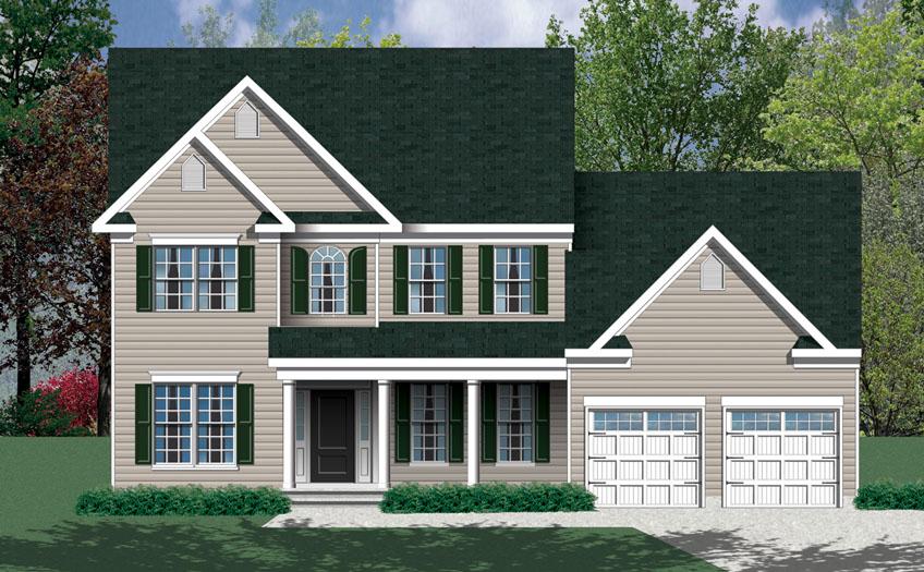 Barry Andrews Homes Elliott Floor Plan