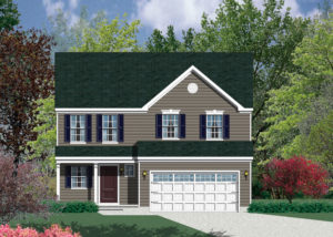 Barry Andrews Homes Largo Floor Plan