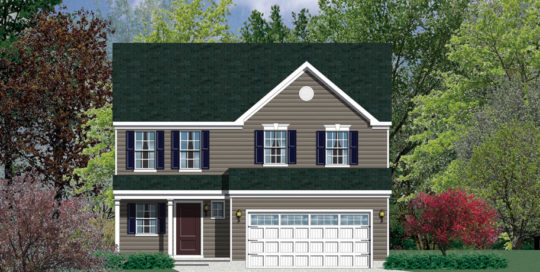 Barry Andrews Homes Largo Floor Plan