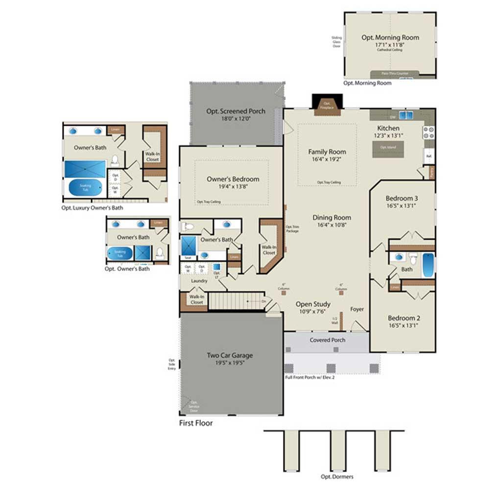 House Plans Simple Custom Home Floor Trend Home Design And Decor