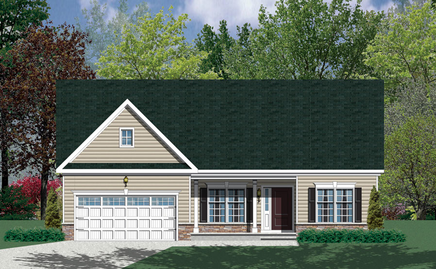 Barry Andrews Homes Rockland Floor Plan