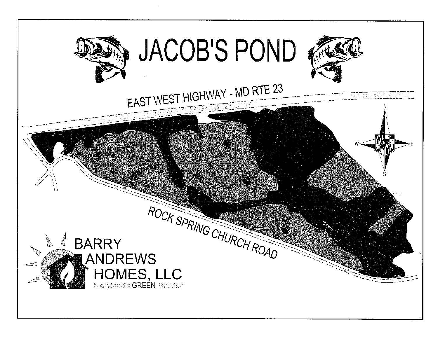 Barry Andrews Homes Jacob's Pond